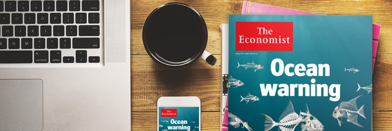 As ESNcard holder you will benefit from a 20% discount on the already reduced student price when subscribing to The Economist, plus a copy of Intelligent ...